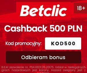 betclic polska bonus